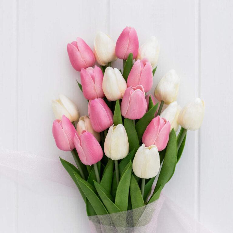 tulipany na dzien mamy